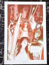 Alex Ross PRINT Limited Edition Art DC Comic Justice League Heroes Cover Rare