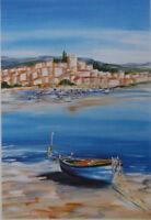 Briante Anne-Marie: El Barca - Litografía Firmada Numerada #390EX# Provence