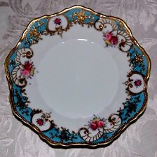 Vintage Nippon Noritake Beaded Heavy Gold Hand Painted Plate  (Royal Crockery)