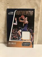 2018-19 Panini Threads Authentic Threads #AT-JIG Joe Ingles SP Utah Jazz GW JRSY