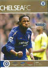 Football Programme - Chelsea v Everton - Premiership - 17/04/06