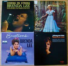 BRENDA LEE-Lot Of 4 Great Albums-Rockabilly-Teen Rock-Country-Hillbilly
