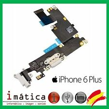 CONECTOR DE CARGA iPHONE 6 PLUS 5.5 BLANCO POWER JACK AUDIO MICROFONO FLEX DOCK