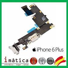 CONECTOR DE CARGA iPHONE 6 PLUS 5.5 BLANCO POWER JACK AUDIO MICROFONO FLEX DOCK