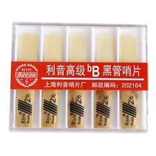 RIYIN 10 Pcs bB Clarinet Reeds Strength 2.5 T1