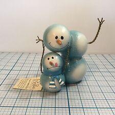 NEW REGAL ART & GIFT Snowbies Decor Metal Figurine Christmas Snowman Ornament
