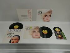 "NM- STUNNING! Madonna Who's That Girl 45/LP/12"" LOT-ULTRA RARE IN-STORE DISPLAYS"