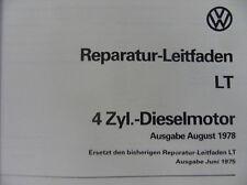 Officina libro Guida di riparazione VW LT 4zyl. - Dieselmotor #6980