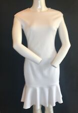 BNWT POLO RALPH LAUREN Stylish White Cap Sleeve Flare Dress UK 10 US 6 SAVE £££s
