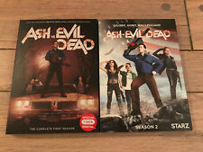 ASH VS EVIL DEAD SEASONS 1 And 2 Dvd Sets With Slipcovers Bruce Campbell