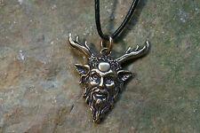 Colgante amuleto Cernunnos bronce plus colgante celtas bosque Dios schutzamulett