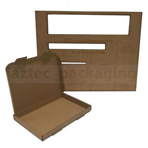 50x C5 A5 SIZE BOX 160x230x22mm ROYAL MAIL LARGE LETTER POSTAL CARDBOARD PIP