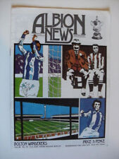 Bolton Wanderers FA Cup Home Teams A-B Football Programmes