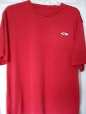 Men's Size L Red Poly Athletic Shirt by Champion