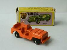 LOUIS MARX HONG KONG BULLDOG MINI JUNIOR SERIES BOXED VINTAGE 1960s DIECAST JEEP