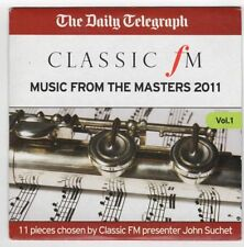 CLASSIC FM – Music from the Masters 2011 (Vol.1) — Telegraph promo CD (11 tracks