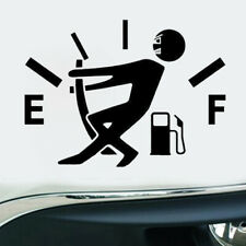 1* High Gas Consumption Style Auto Car Body Door Black DIY Sticker Accessories