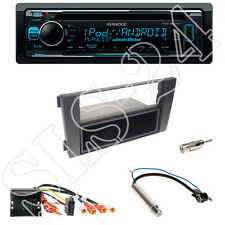 Kenwood KDC-300UV CD-Radio + Audi A6 (2004,mit Bose) Blende + Quadlock-Adapter