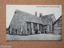 R&L Postcard: Thomas Becket's Palace, Tarring Sussex