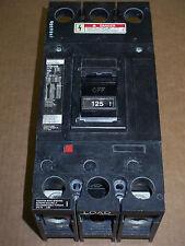 ITE F6 2 pole 125 amp trip 600v F62F250 Circuit Breaker F62F125