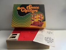 Vintage Far Out 1971 Space Checkers Game by Pacific Game Company, Hollywood, CA