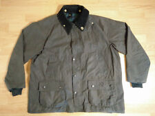 Barbour Bedale Jacket A104 C48 122CM Waxed Oil Cloth Dark Green Waterproof Coat