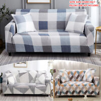 Sofa Covers Couch Cover Elastic Slipcover Stretch Chair Protector 1 2 3 4 Seater