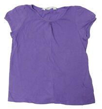 H&M Girls Size 4-6Y Purple Top