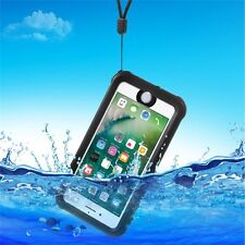 "Custodia Impermeabile Antiurto Nera Apple iPhone 7 Plus 5.5"" - Waterproof Cover"