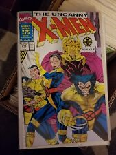 Uncanny X-Men #275-1991 nm- Jim Lee Giant 1st STANDARD cover