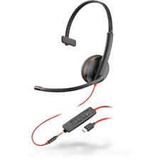 Plantronics Blackwire C3215 USB-C Noise Canceling Corded UC Headset 209750-101