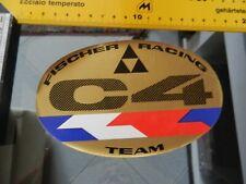 Sticker fischer RACING TEAM C4   ski VERY GOOD
