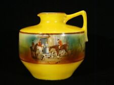 "Royal Bayreuth Porcelain Hunt Jug Pitcher 3 3/4""h"
