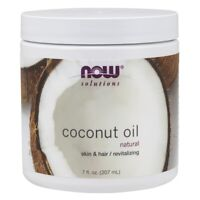 NOW FOODS 100%Coconut Oil 7oz Skin&Hair/Revitalizing FREE SHIPPING Made In USA