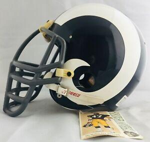 Los Angeles Rams Football Riddell Throwbacks NFL Vintage Collection Full Helmet