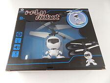 BRAHA i-Fly Robot Flying Helicopter White/Black New