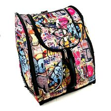 Athalon Everything Boot Bag Backpack Graffiti Ski Snowboard Travel Carry-on