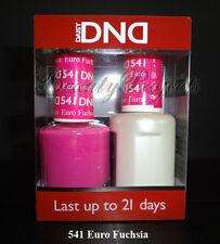 DND Daisy Soak Off Gel Polish Euro Fuchsia 541 full size 15ml LED/UV gel duo