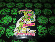 TMNT Ninja Turtles Hero Glow in the Dark Pressers Rare