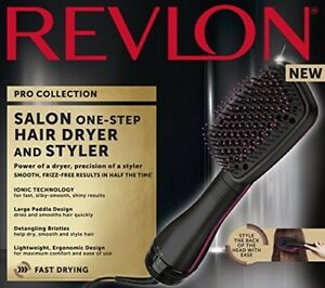 Revlon One Step Hair Dryer Hot Air Brush Styler Paddle Detangler RVDR5212 - New