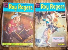 ROY ROGERS 2No TRIMESTRIEL  No 33 ET 39<1966< NUMERO GEANT <SAGE PARIS