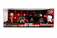 Betty Boop - 1939 Chevy Master Deluxe 1:24 with Figure Hollywood Ride