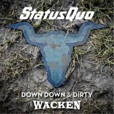 STATUS QUO DOWN DOWN & DIRTY AT WACKEN DIGIPAK CD & DVD ALL REGIONS NTSC NEW