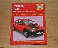 Haynes Service & Repair Manual. Ford KA 1996 to 2002