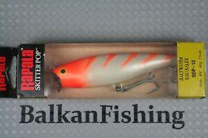 Rapala Skitter Pop, SSP-12 12cm-40g. Color: CG Pearl Orange