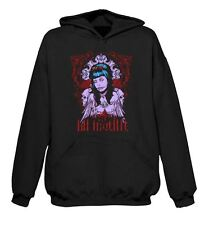 La Muerte Day Of The Dead Skull Hoodie - Goth Emo Tattoo