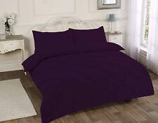 Pintuck Duvet Cover Set With Pillow Cases King Size Double Single Super Bedding