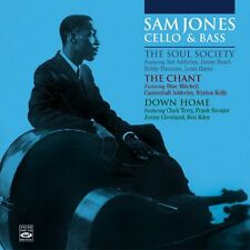 Sam Jones: The Soul Society + The Chant + Down Home (3 Lps On 2 Cds)