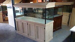 Aquarium 6x2x2 Ft - Glass Fish Tank Cabinet Hood Brand New