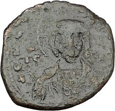 JESUS CHRIST Class A2 Anonymous Ancient 1028AD Byzantine Follis Coin  i41145